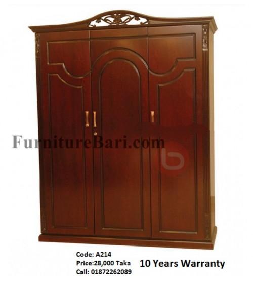 Almirah 3part A214 Online Furniture Shopping In Dhaka