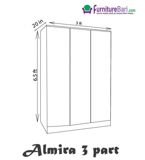 Almirah 3Palla A205