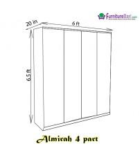 Almirah 4Palla A201