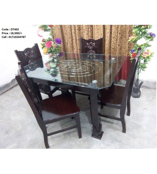 Dining Table Dt402 Online Furniture Shopping In Bangladesh